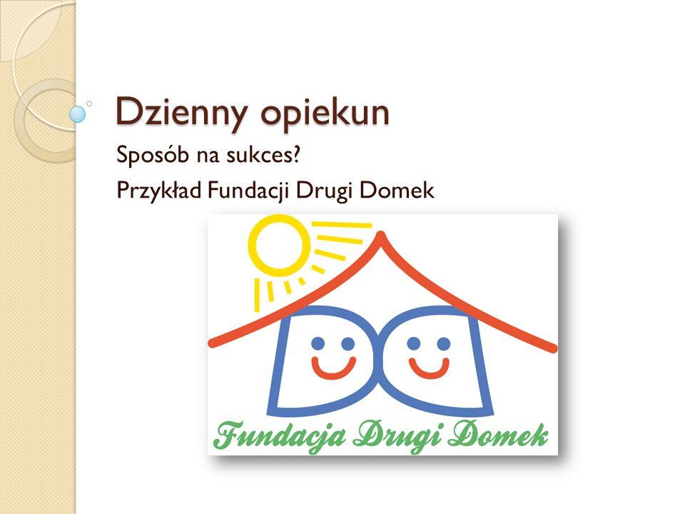 Sposób na sukces Przykład Fundacji Drugi Domek