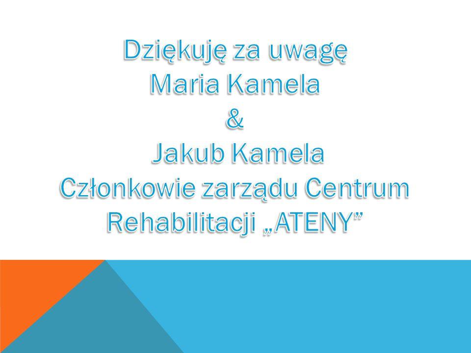 """Członkowie zarządu Centrum Rehabilitacji """"ATENY"""