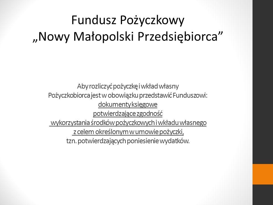 """""""Nowy Małopolski Przedsiębiorca"""