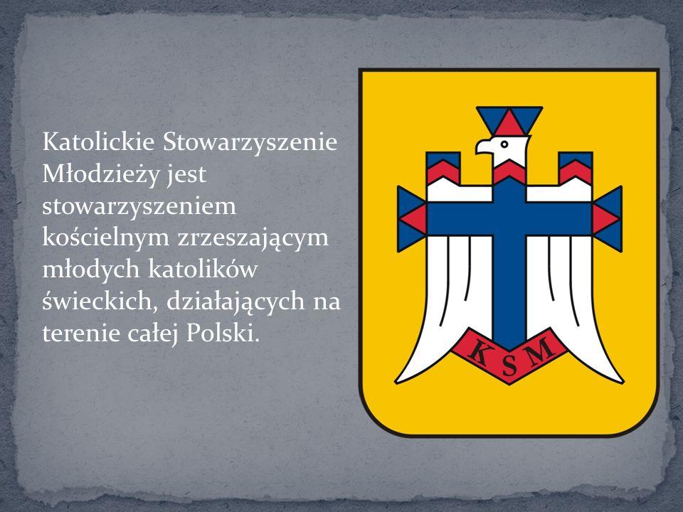 Katolickie Stowarzyszenie Młodzieży jest stowarzyszeniem kościelnym zrzeszającym młodych katolików świeckich, działających na terenie całej Polski.