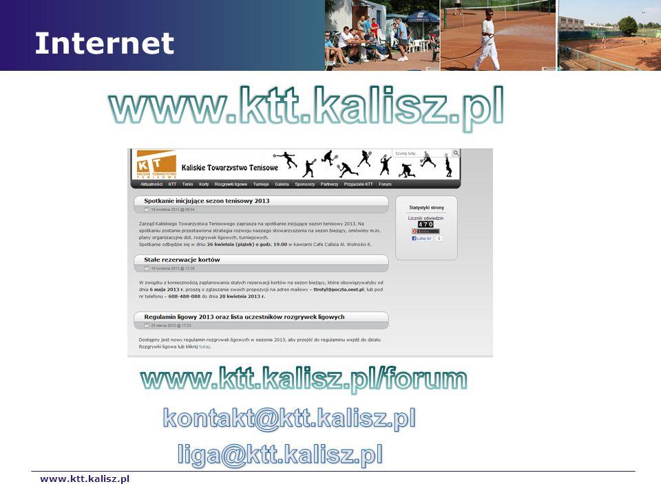 www.ktt.kalisz.pl Internet www.ktt.kalisz.pl/forum