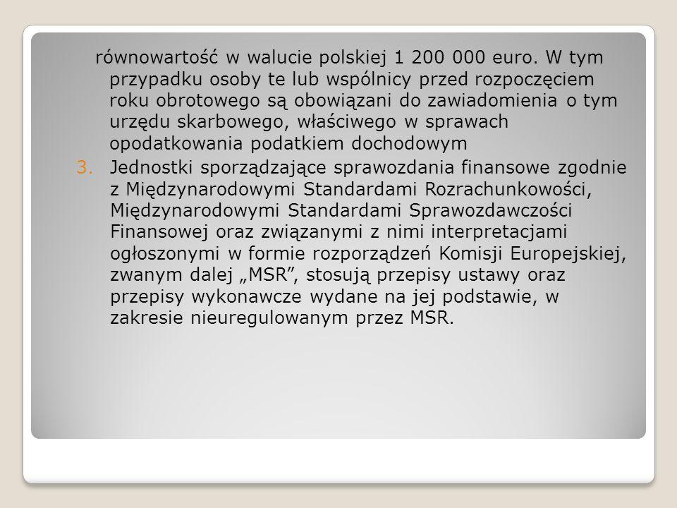 równowartość w walucie polskiej 1 200 000 euro