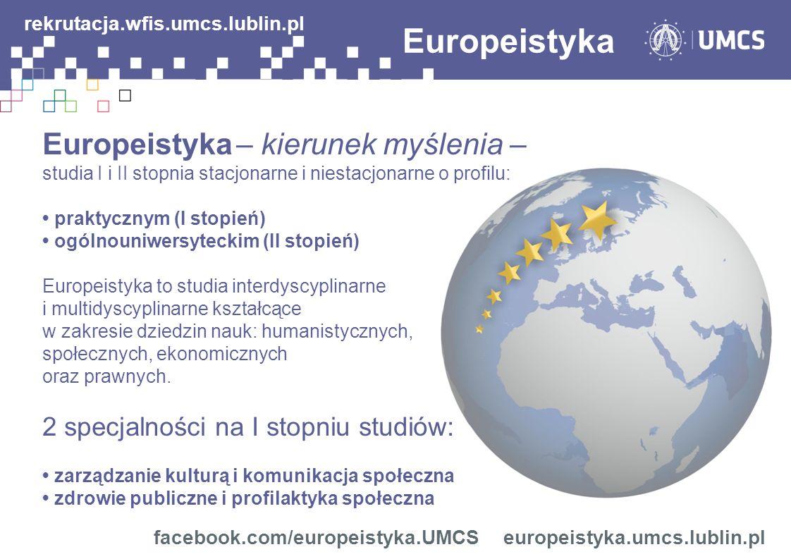 Europeistyka rekrutacja.wfis.umcs.lublin.pl