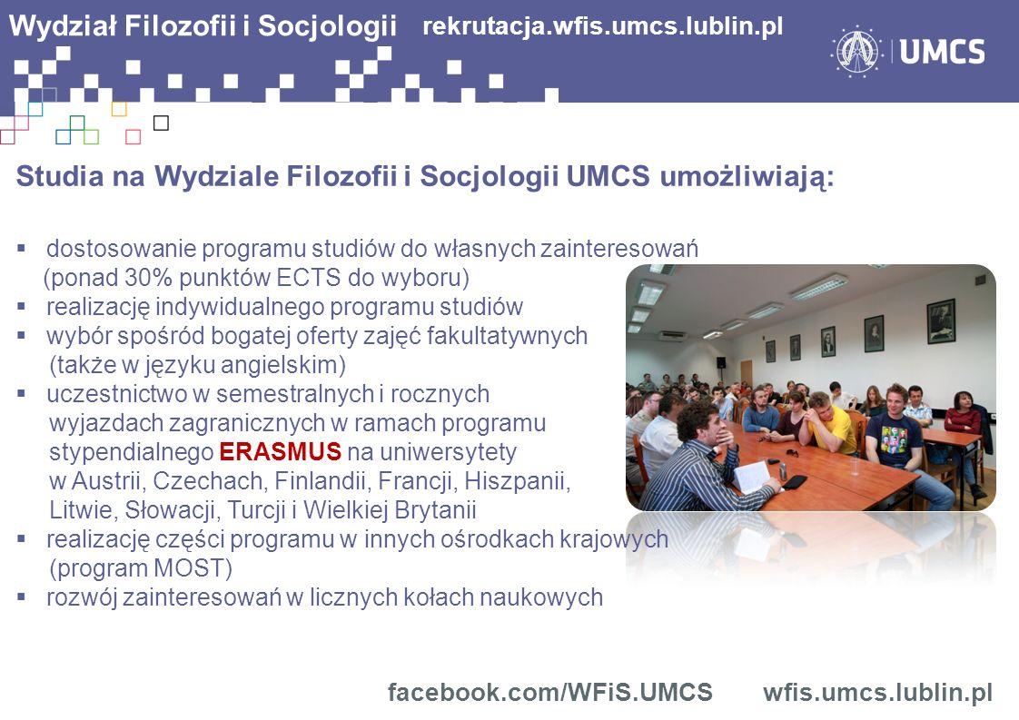 rekrutacja.wfis.umcs.lublin.pl facebook.com/WFiS.UMCS