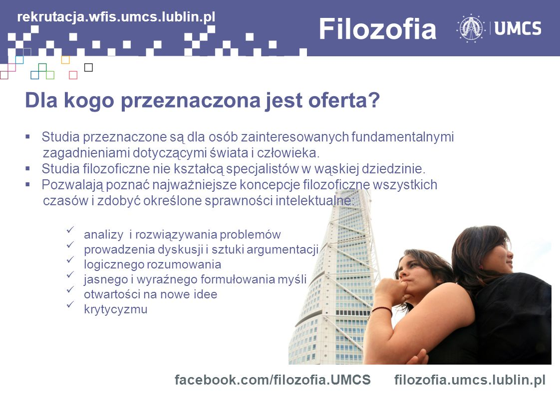 Filozofia rekrutacja.wfis.umcs.lublin.pl
