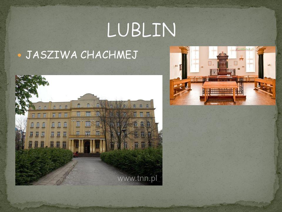 LUBLIN JASZIWA CHACHMEJ