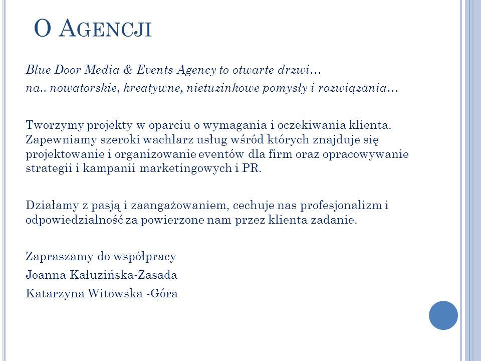 O Agencji