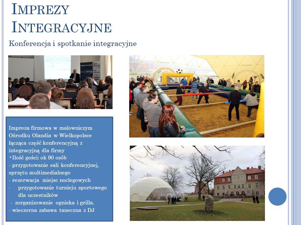 Imprezy Integracyjne Konferencja i spotkanie integracyjne
