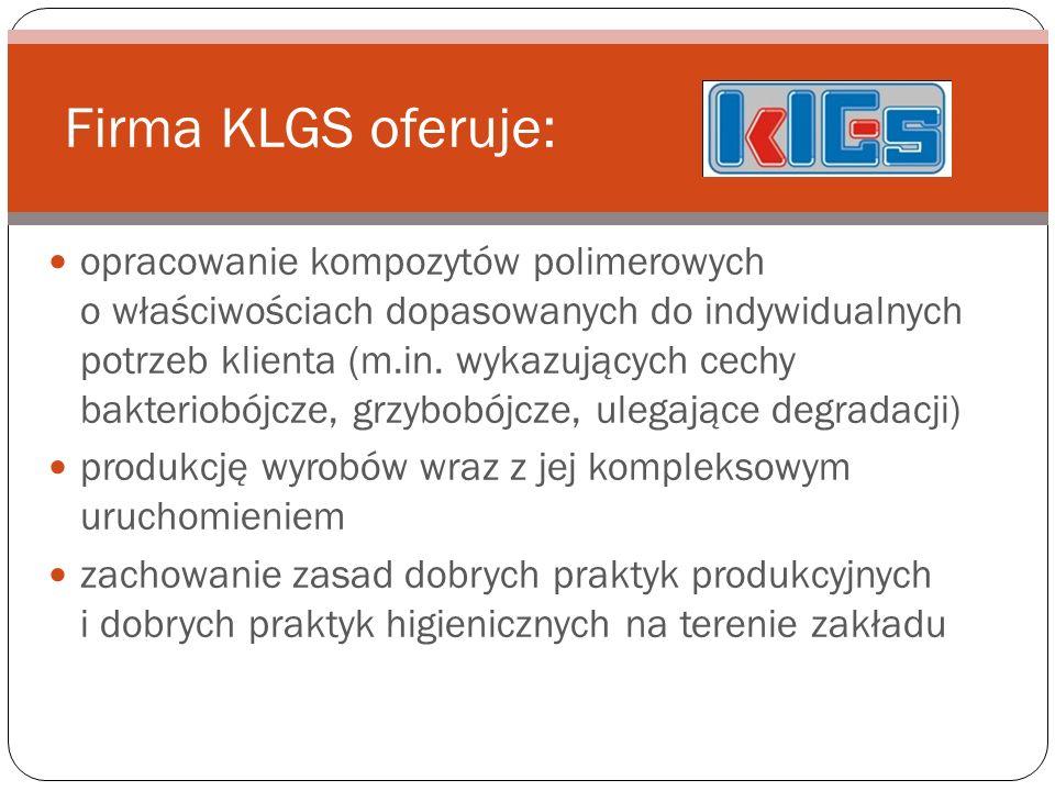 Firma KLGS oferuje: