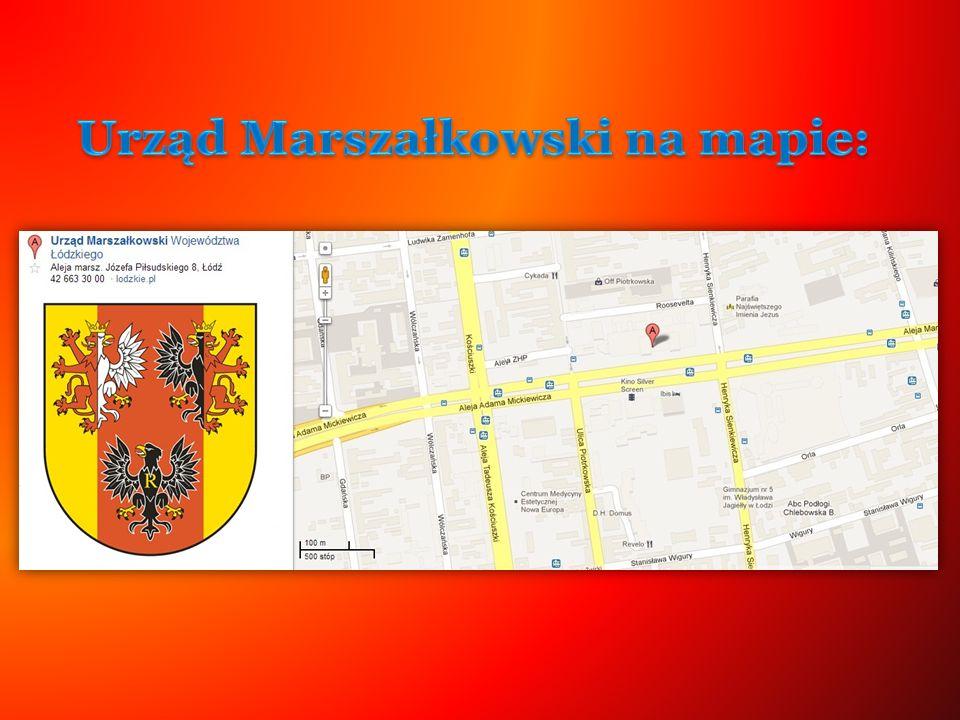 Urząd Marszałkowski na mapie: