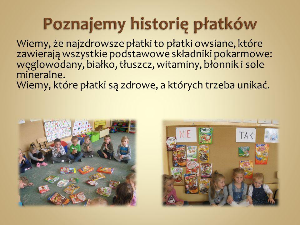 Poznajemy historię płatków