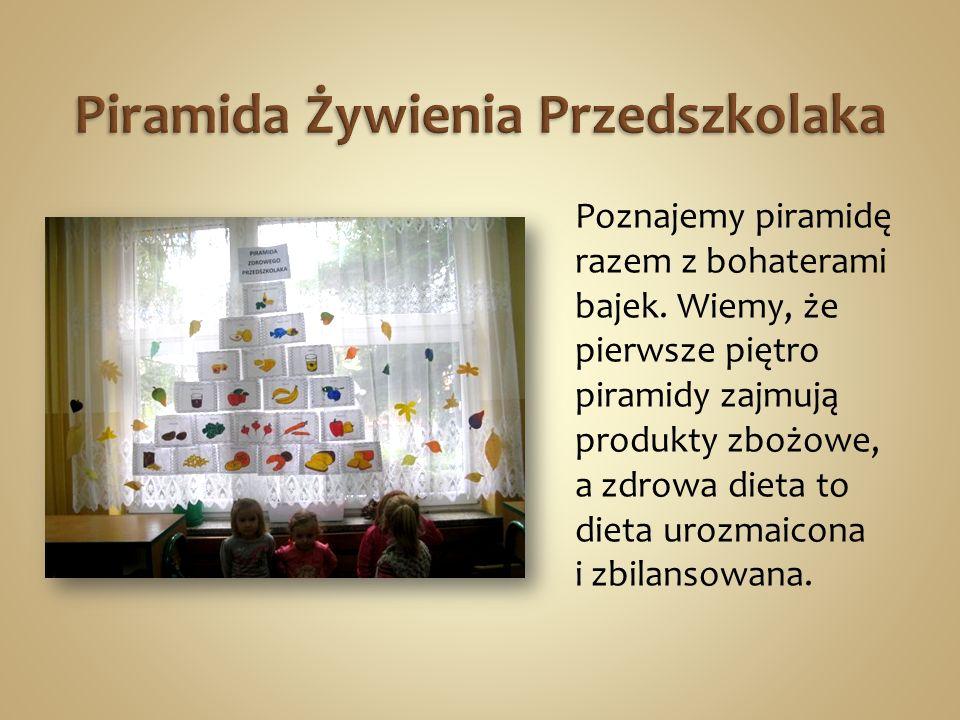 Piramida Żywienia Przedszkolaka