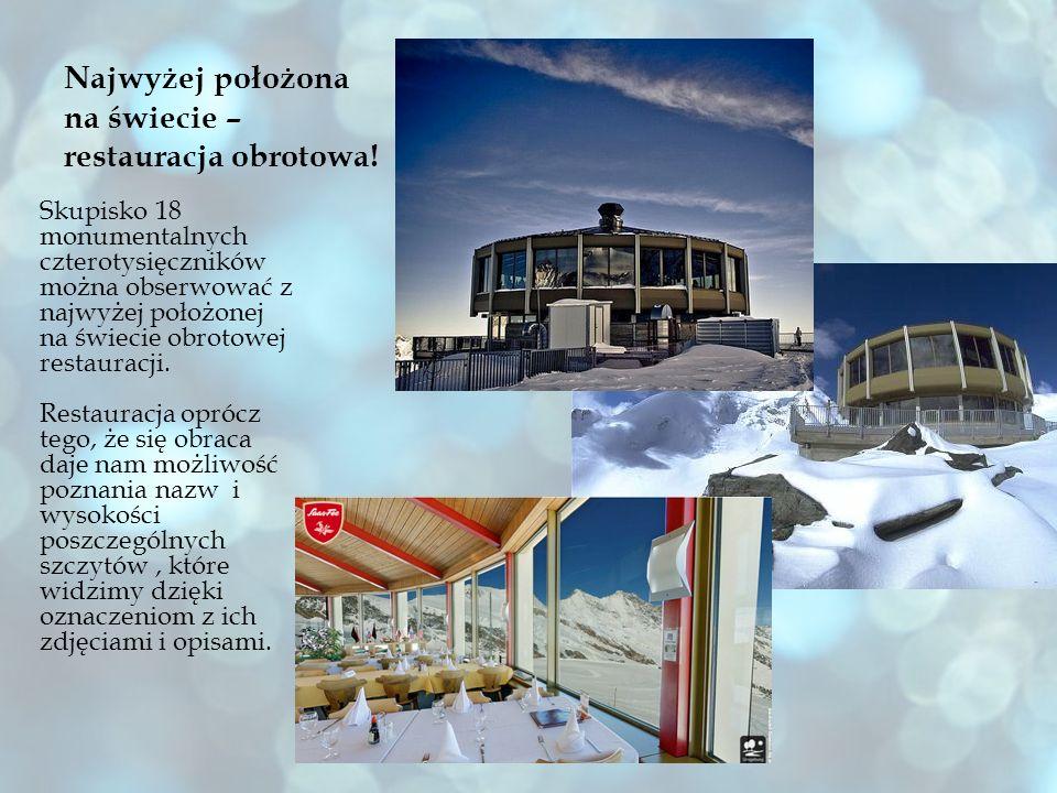 Najwyżej położona na świecie – restauracja obrotowa!