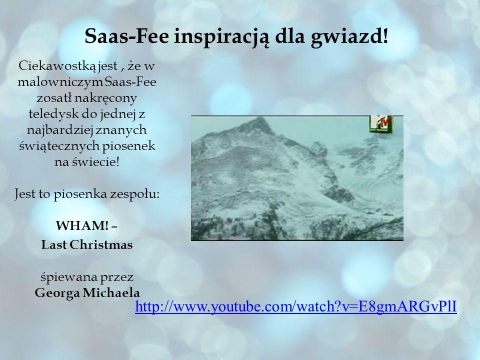 Saas-Fee inspiracją dla gwiazd!