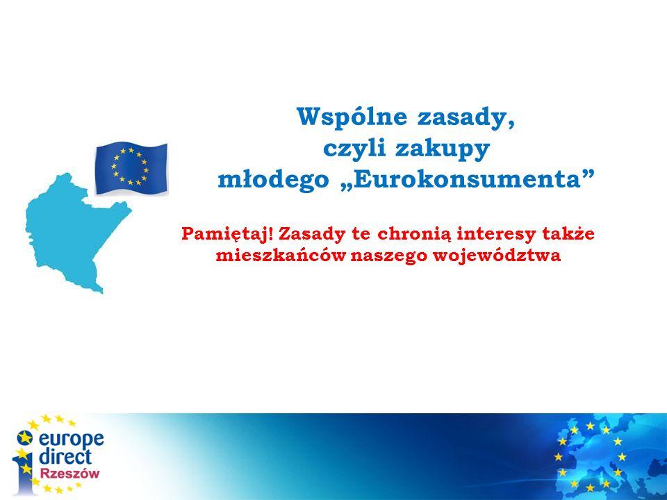 """Wspólne zasady, czyli zakupy młodego """"Eurokonsumenta"""