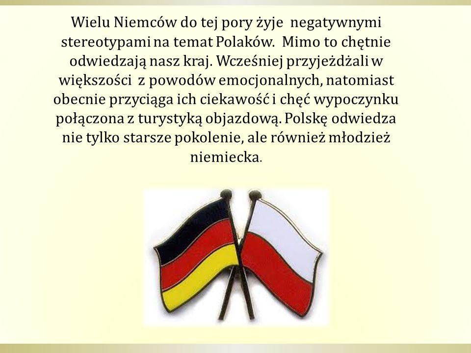 Wielu Niemców do tej pory żyje negatywnymi stereotypami na temat Polaków.