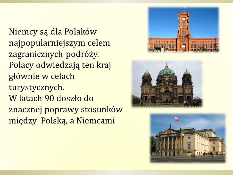 Niemcy są dla Polaków najpopularniejszym celem zagranicznych podróży