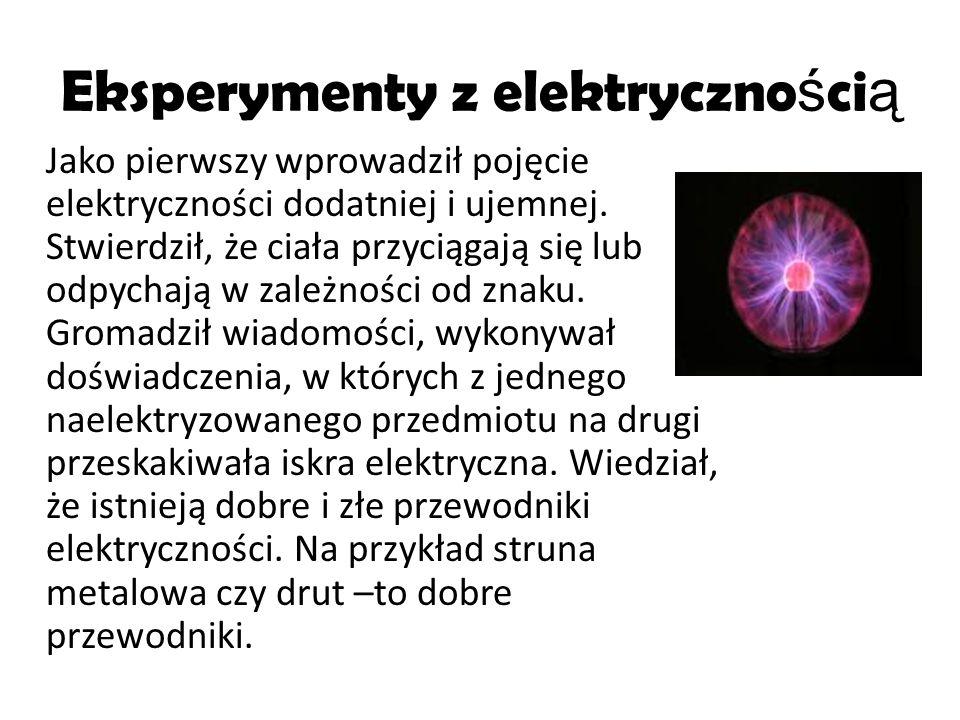 Eksperymenty z elektrycznością