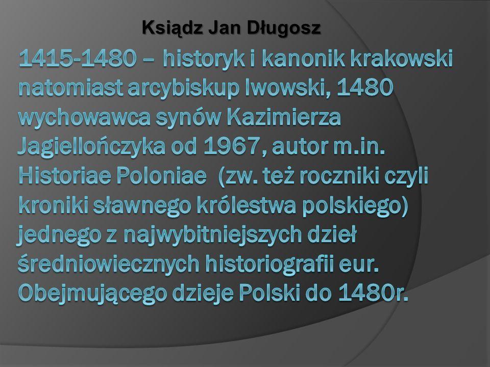 Ksiądz Jan Długosz