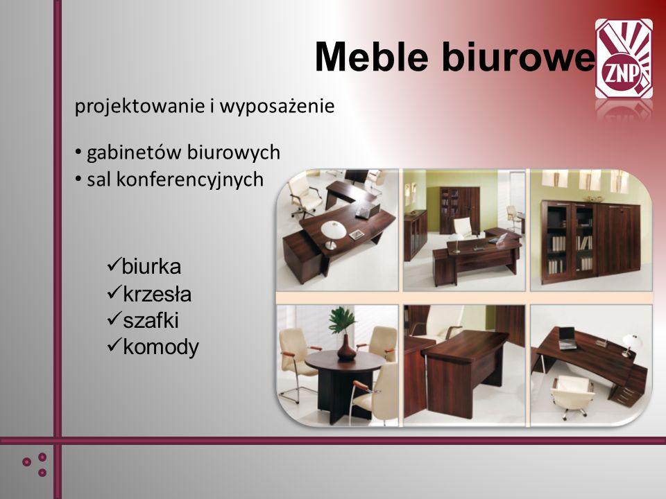Meble biurowe projektowanie i wyposażenie gabinetów biurowych