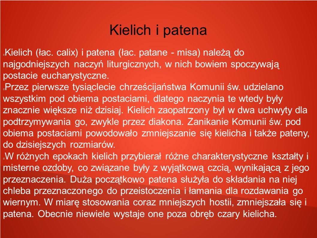 Kielich i patena