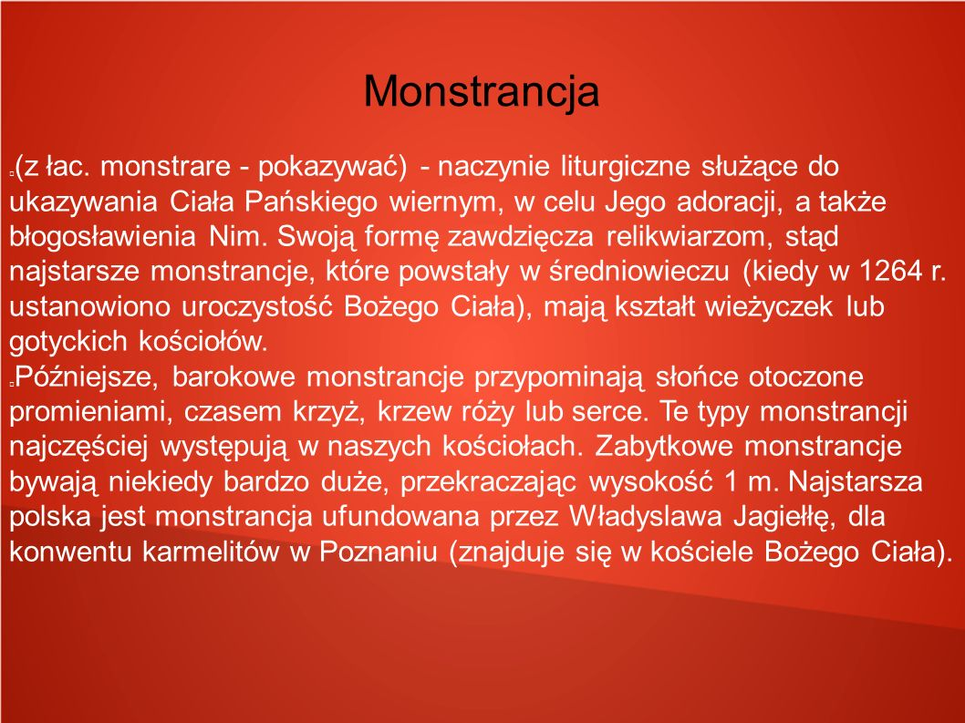 Monstrancja