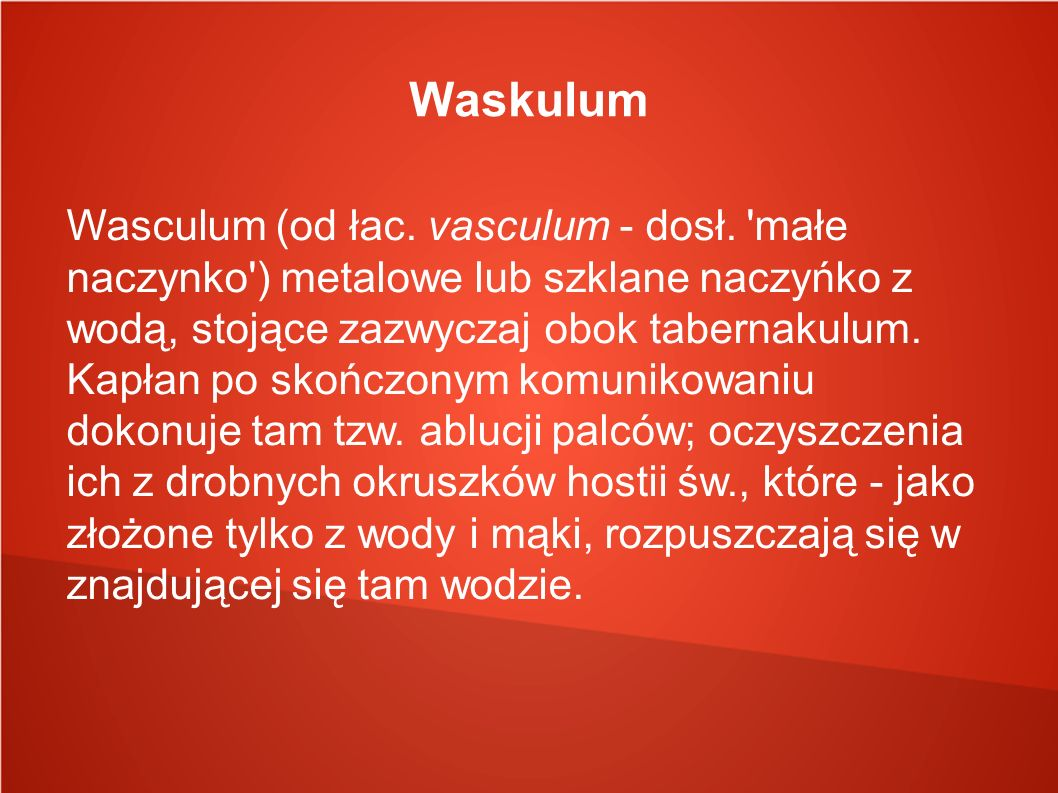 Waskulum