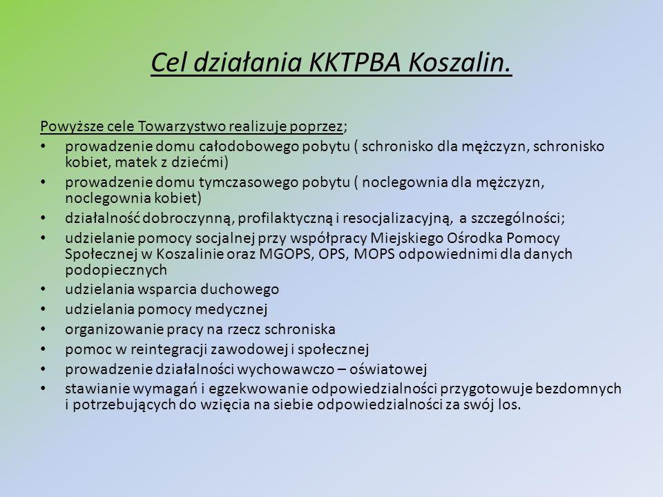 Cel działania KKTPBA Koszalin.