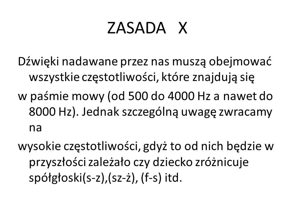 ZASADA X
