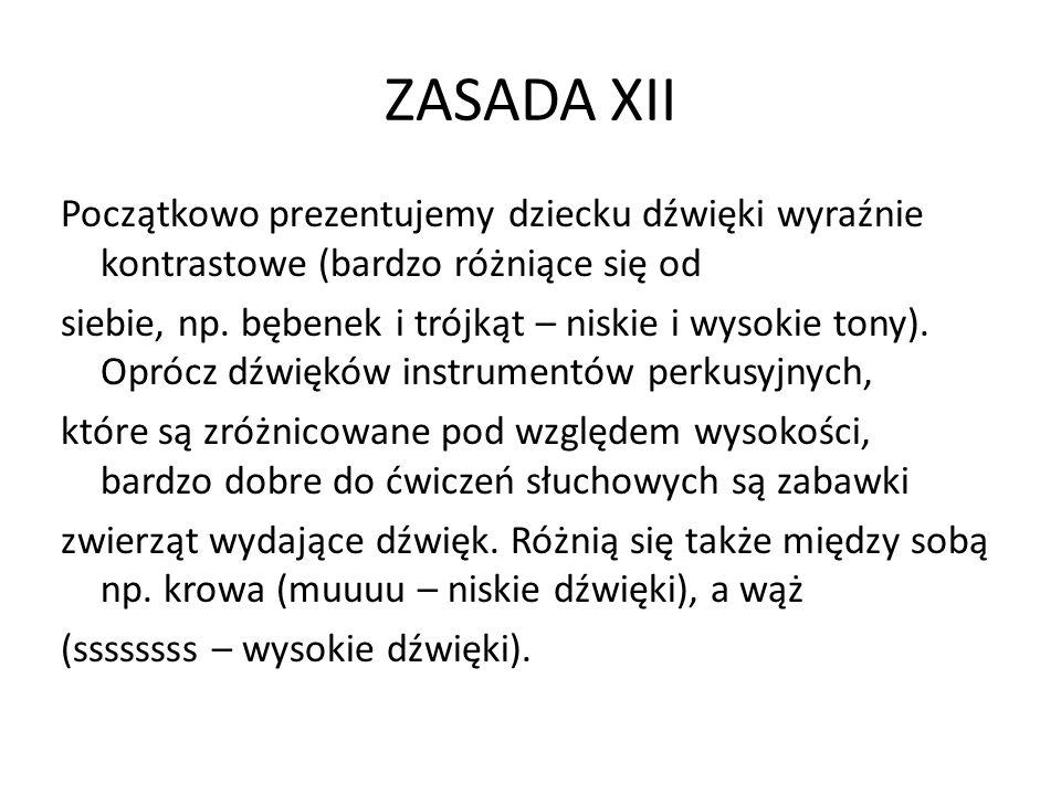 ZASADA XII