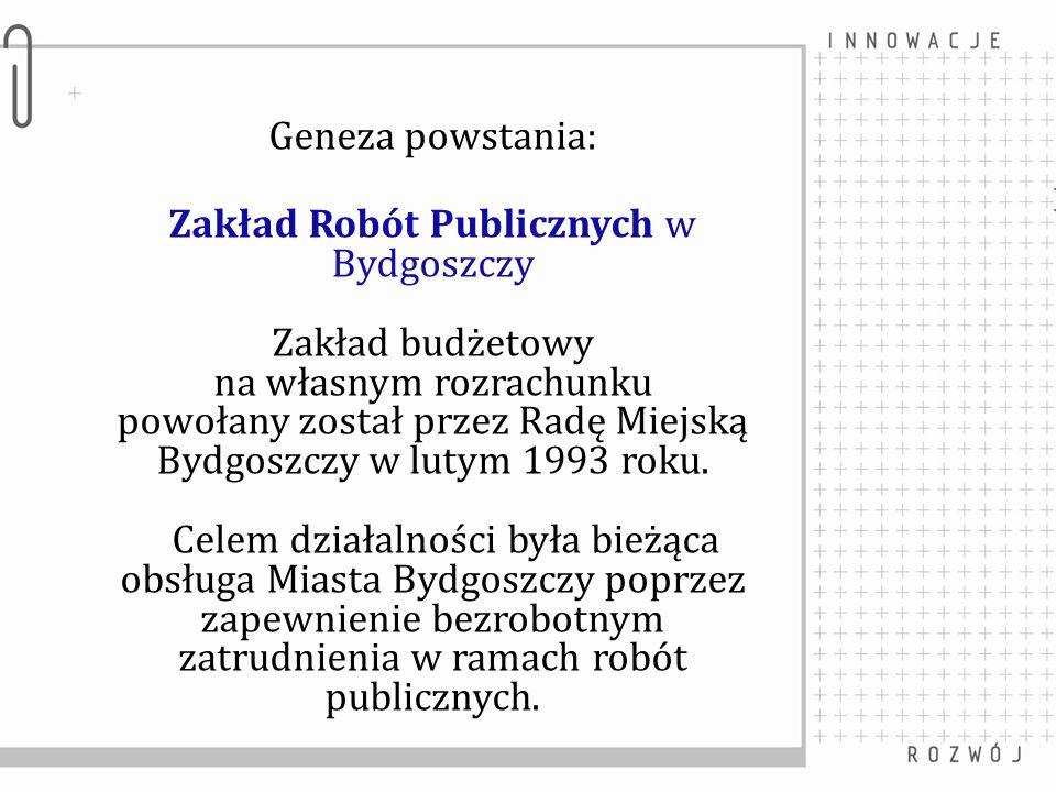 Zakład Robót Publicznych w Bydgoszczy Zakład budżetowy