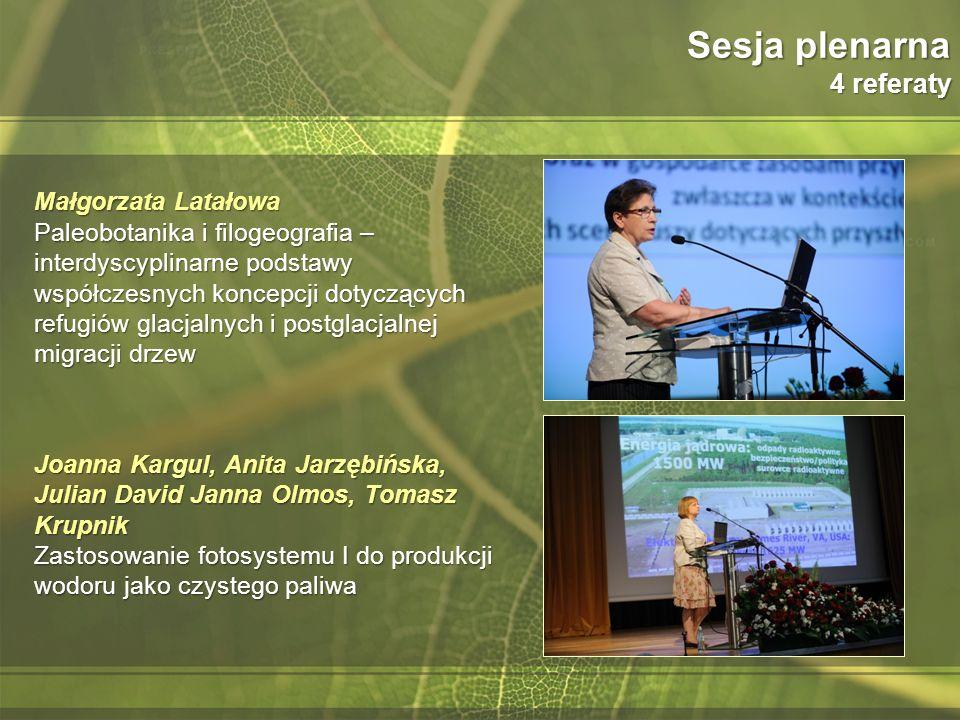 Sesja plenarna 4 referaty