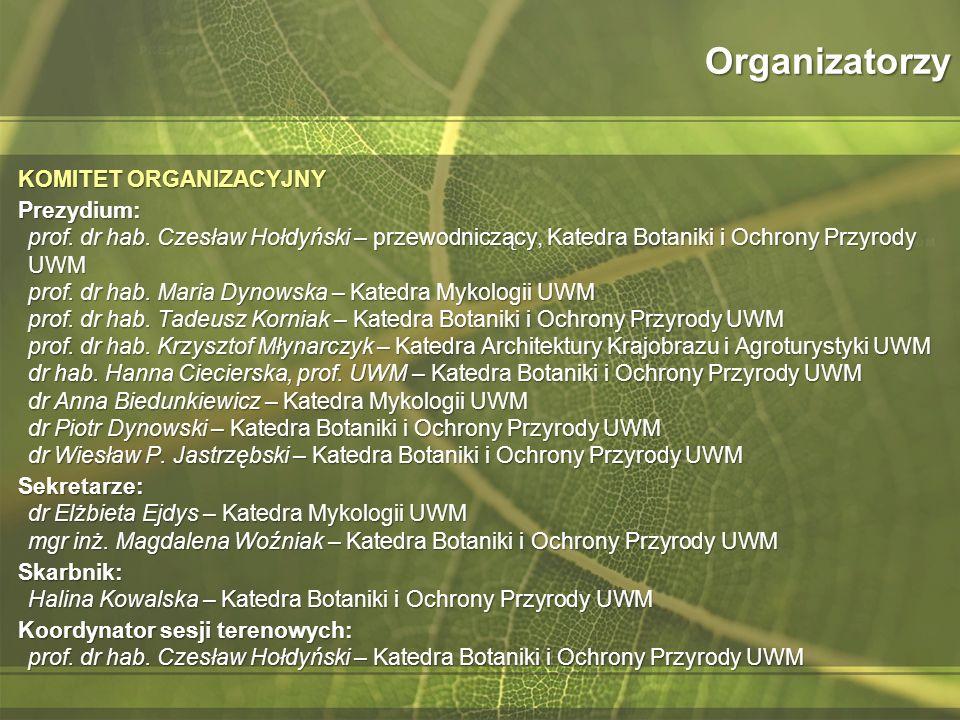 Organizatorzy