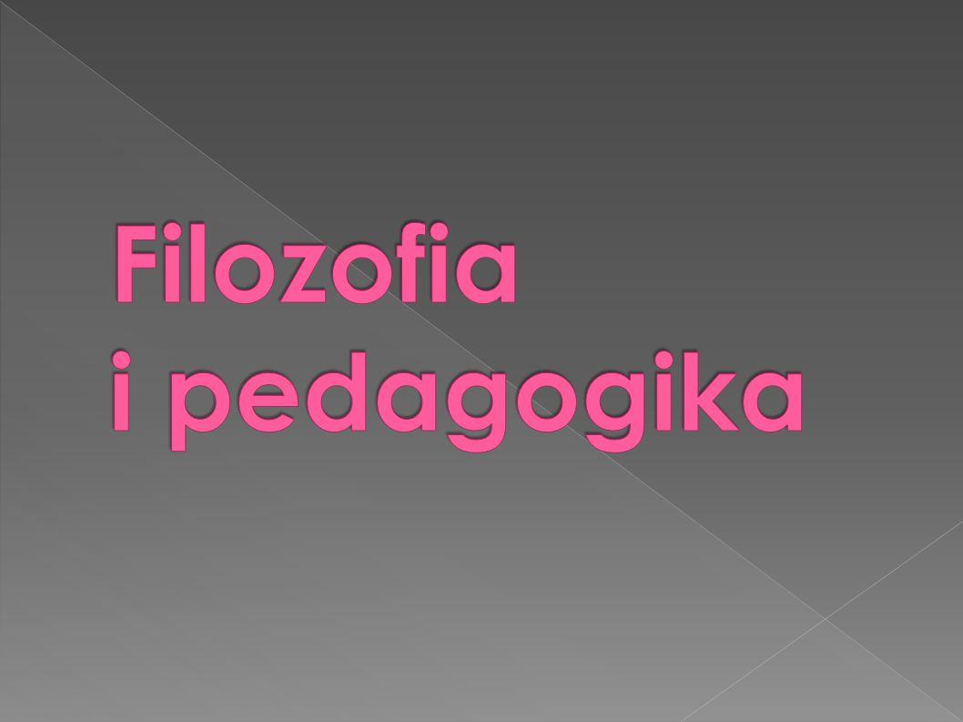 Filozofia i pedagogika