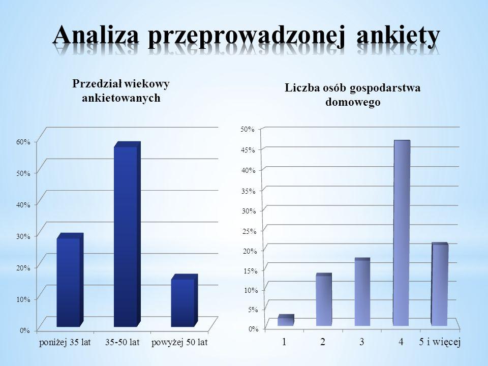 Analiza przeprowadzonej ankiety