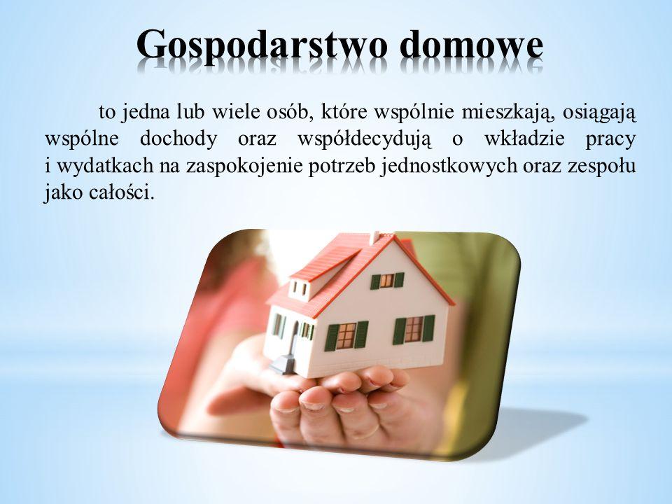 Gospodarstwo domowe