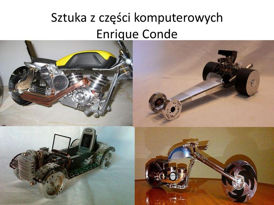 Sztuka z części komputerowych Enrique Conde