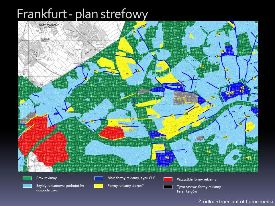 Frankfurt - plan strefowy