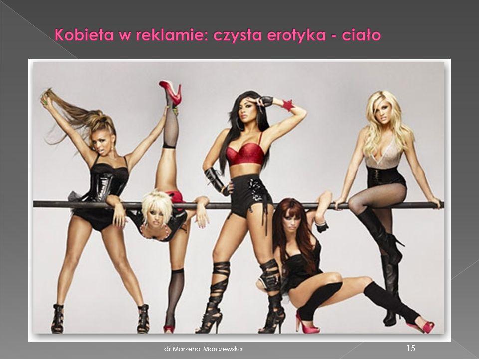 Kobieta w reklamie: czysta erotyka - ciało