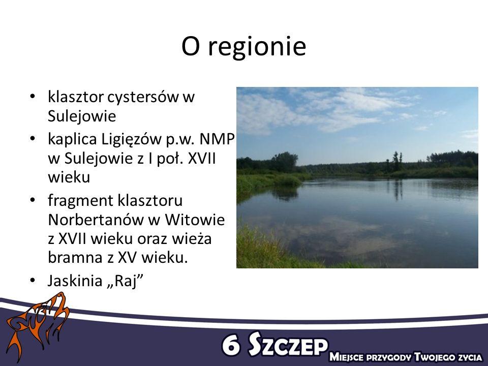 O regionie klasztor cystersów w Sulejowie