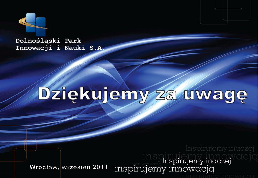 Dziękujemy za uwagę Wrocław, wrzesień 2011