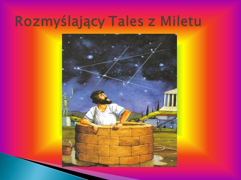 Rozmyślający Tales z Miletu