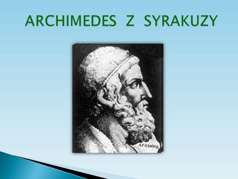 ARCHIMEDES Z SYRAKUZY