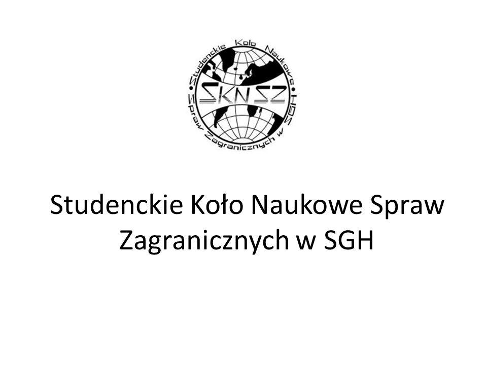 Studenckie Koło Naukowe Spraw Zagranicznych w SGH