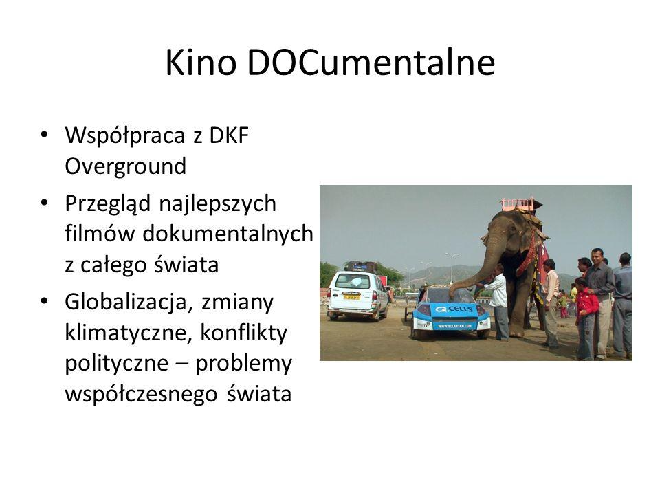 Kino DOCumentalne Współpraca z DKF Overground