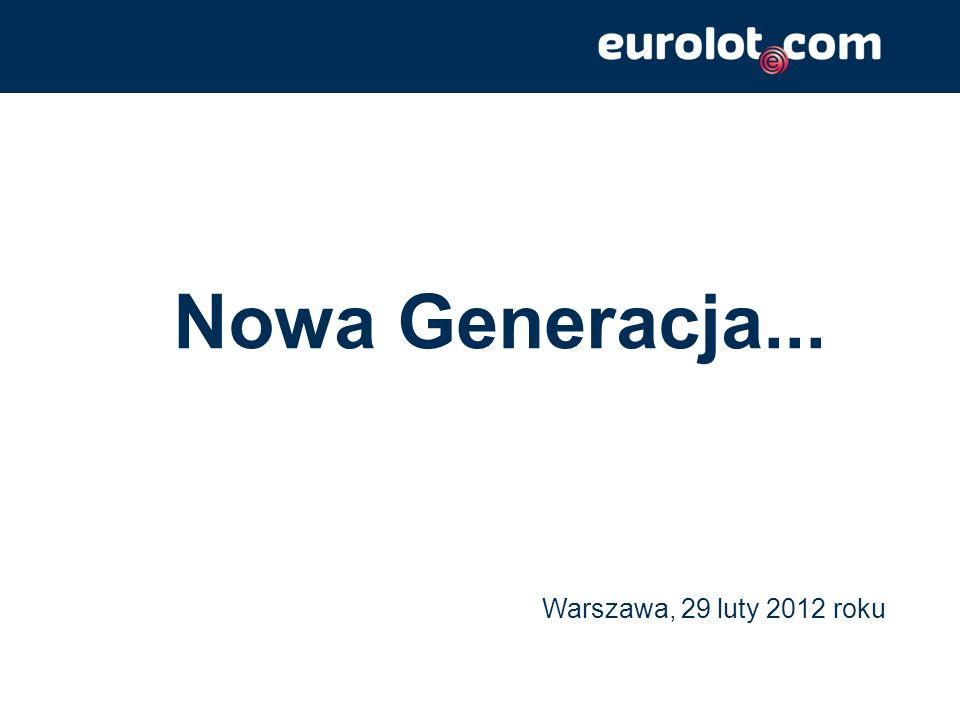 Nowa Generacja... Warszawa, 29 luty 2012 roku