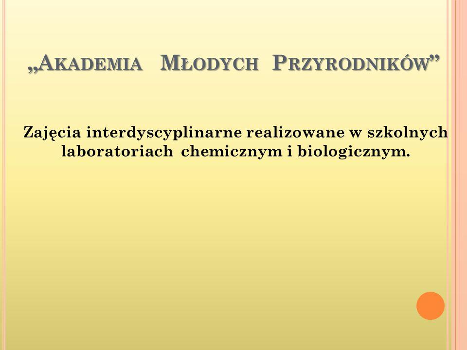 """""""Akademia Młodych Przyrodników"""