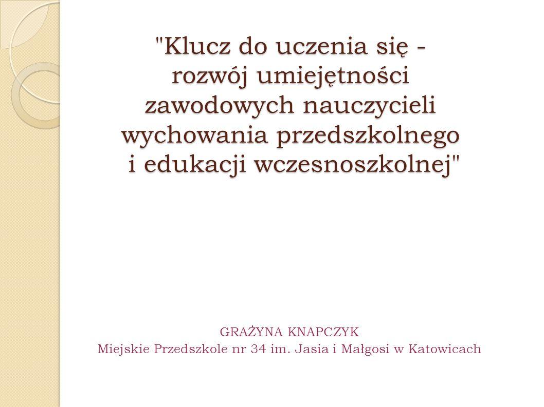 Miejskie Przedszkole nr 34 im. Jasia i Małgosi w Katowicach