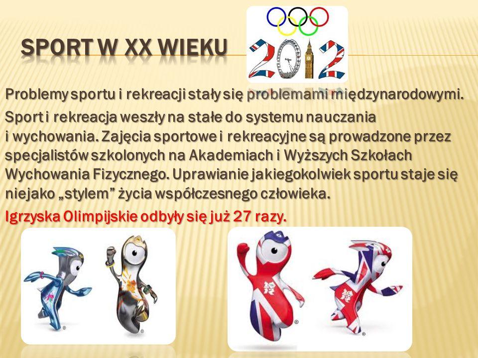 Sport w xx wieku