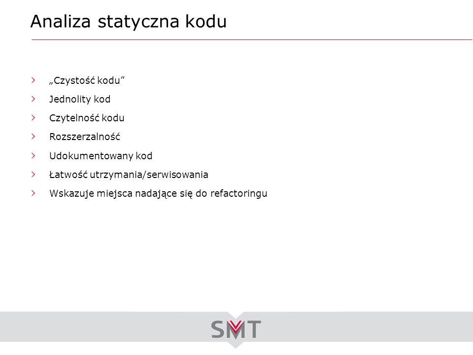 Analiza statyczna kodu
